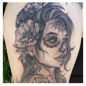 Juan Muerte tattoo
