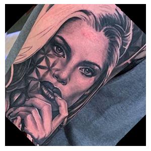 Angelo tattoo sample