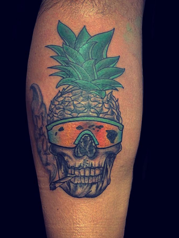 Maui Tattoo Artist Skull