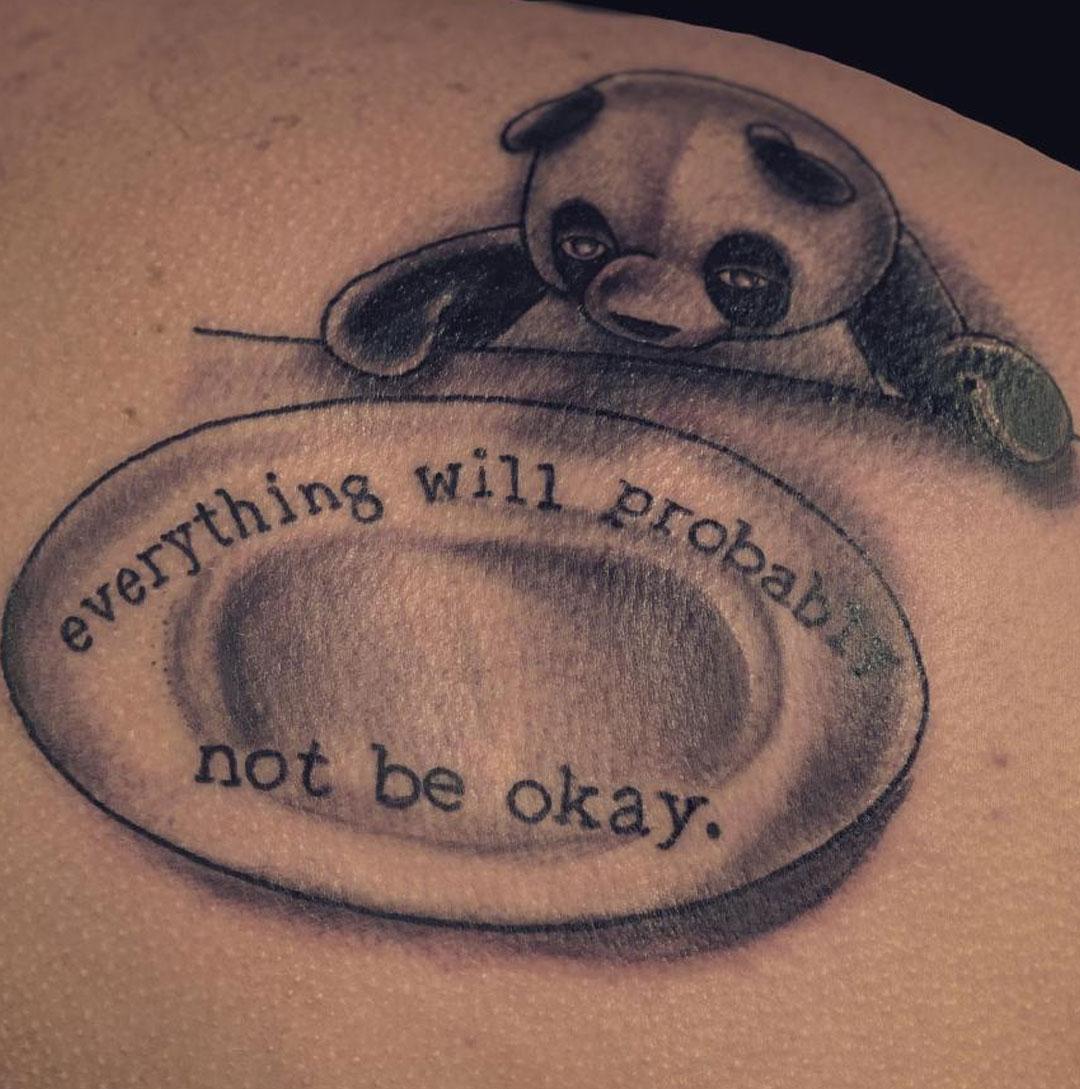 Panda tattoo artist