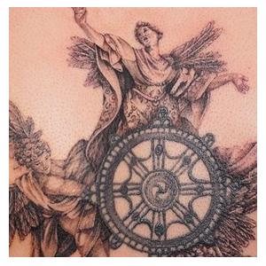Maui Angel Tattoo
