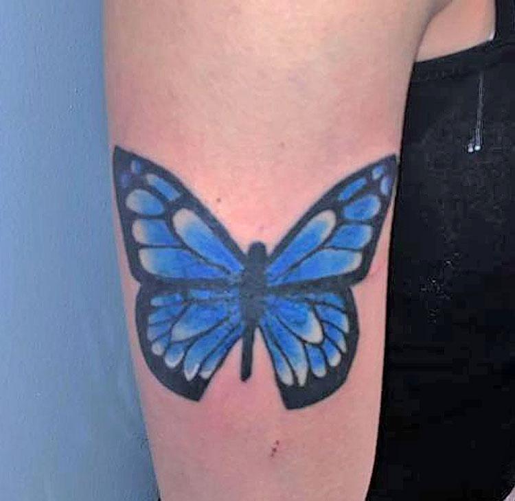 Maui tattoo by Taki