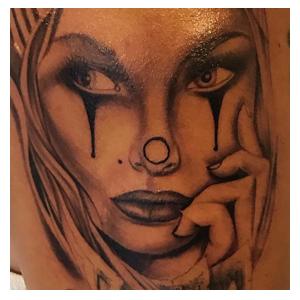 Maui guest tattoo artist Abel's work