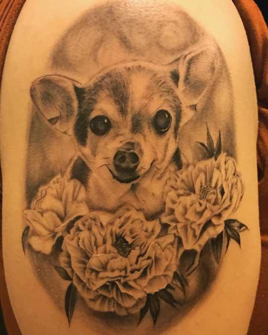 Blue Hawaii tattoo Maui guest tattoo artist Abel
